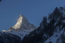 Scenic view of Matterhorn mountain in Swiss Alps, Zermatt, Switzerland — Stock Photo