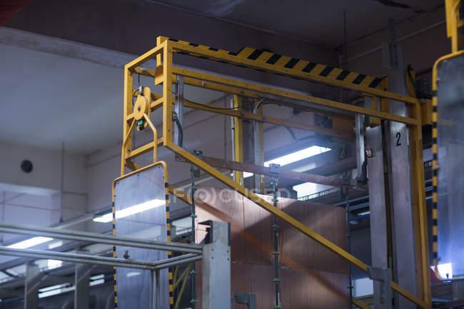 Interno dell'impianto industriale — Foto stock