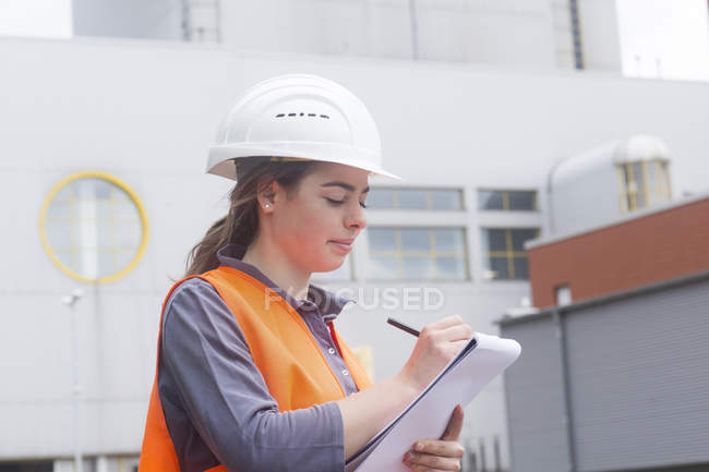 Young technician worker — Stock Photo