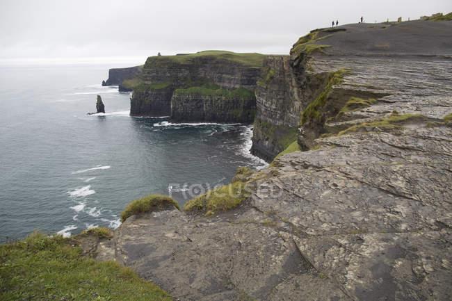 Скалы Мохер, Ирландия — стоковое фото