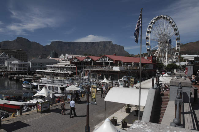 Quayside, Cape Town — Stock Photo
