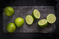Fresh ripe limes — Stock Photo
