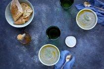 Фіолетовий картоплі кріп Біск — стокове фото