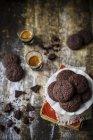 Galletas libres de gluten delicioso - foto de stock