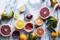 Frische reife Zitrusfrüchte — Stockfoto