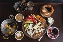 Traditionelles türkisches Frühstück — Stockfoto
