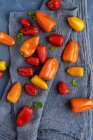 Sweet Colorful Peppers — Stock Photo