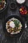 Burrito messicano con crema di anacardi — Foto stock