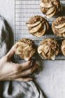 Apple Date Muffins — Stock Photo
