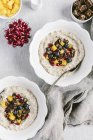 Slow Cooker Steel Cut Oats — Stock Photo