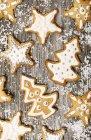 Biscotti di pan di zenzero al forno — Foto stock