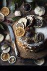 Angelo torta con frutta secca — Foto stock