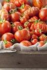 Доморощені помідори свіжі — стокове фото