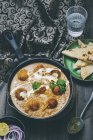 Malai kofta curry — Photo de stock