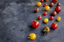 Tomates de cereja frescas — Fotografia de Stock