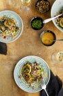 Сезам Фарро салат — стокове фото