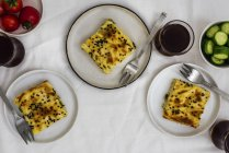 Cheese phyllo pastry stuffed — Stock Photo