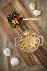 Tarte maison aux légumes caramalised — Photo de stock