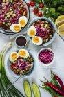 Piyaz insalata turca Bean — Foto stock
