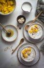Frühstück Haferbrei — Stockfoto