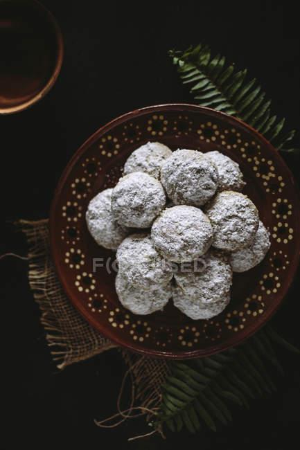 Мексиканские свадебные печенья — стоковое фото