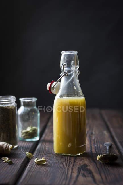 Bottiglia di Mumbai mulo cocktail — Foto stock