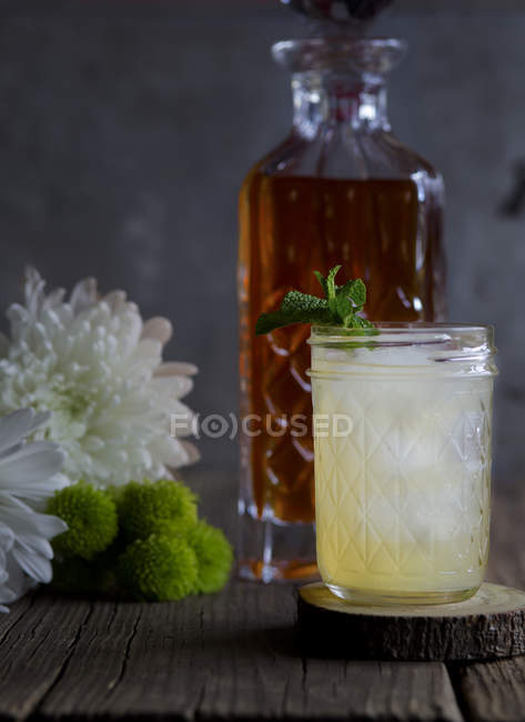Chai Vodka Cocktail — Stock Photo