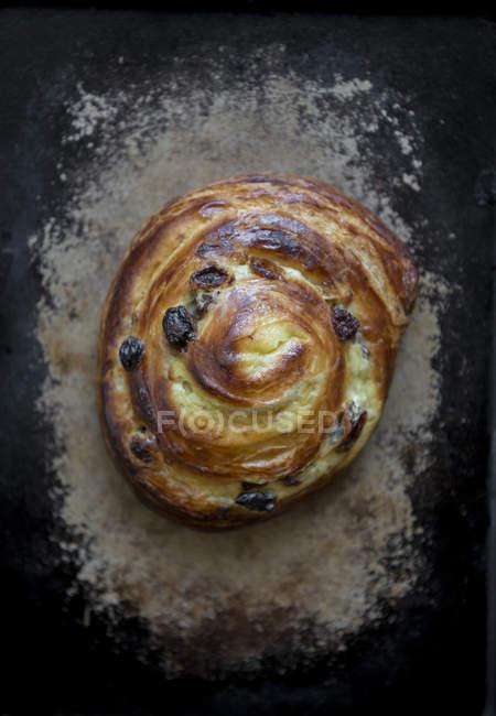 Frühstück-Rosinenbrot — Stockfoto