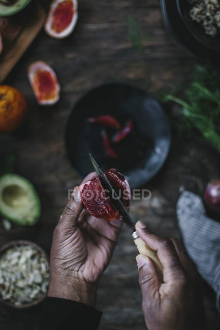 Avocado und Quinoa-Salat — Stockfoto