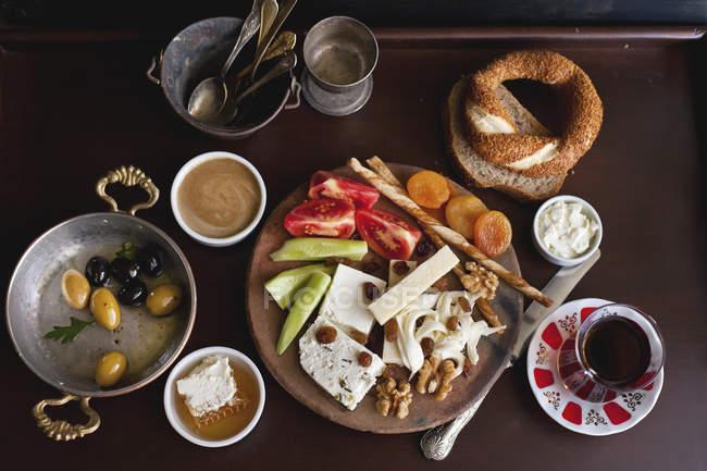 Tradizionale colazione turca — Foto stock