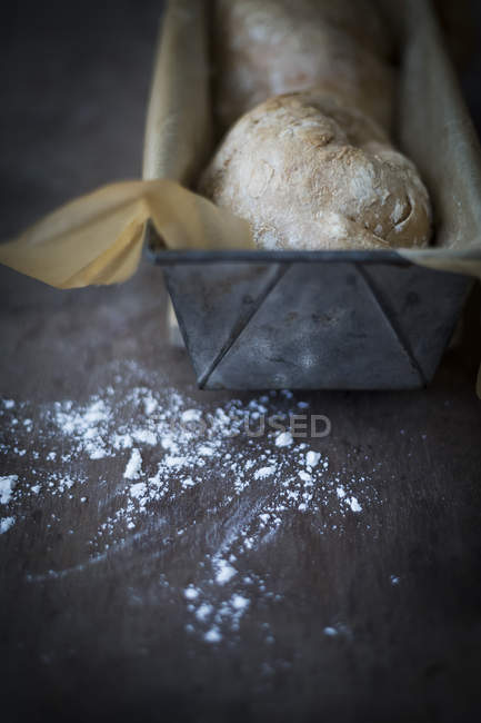 Pan suizo casero - foto de stock