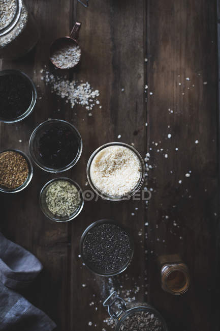 Various kitchen ingredients — Stock Photo