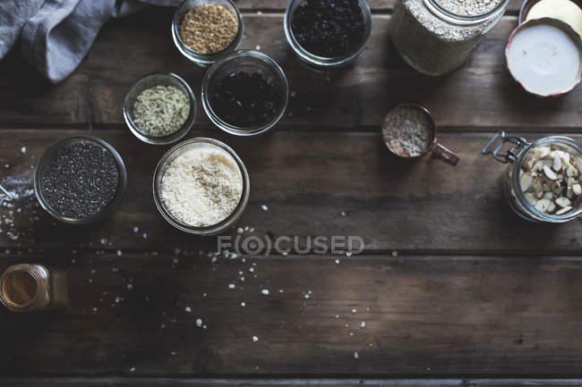 Vari ingredienti di cucina — Foto stock