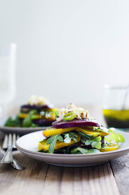Roasted Beets Salad — Stock Photo