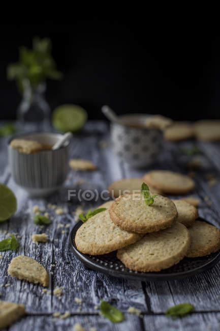 Gluten-free butter cookies — Stock Photo