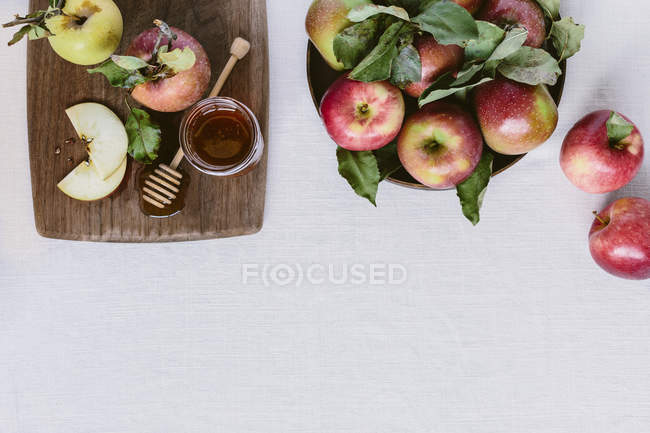 Fresh picked apples — Stock Photo