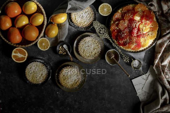 Gluten Free Tart — Stock Photo