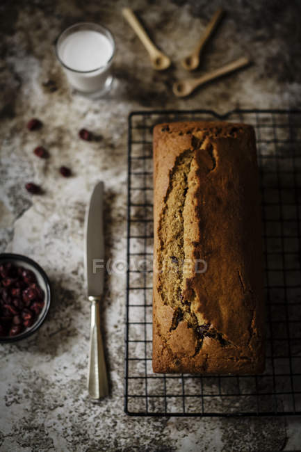 Soft and moist butterless loaf — Stock Photo