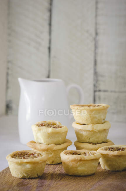 Ini Dessert tartelettes — Photo de stock