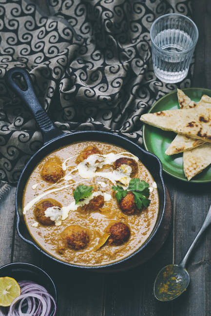 Malai Kofta Curry — Stock Photo
