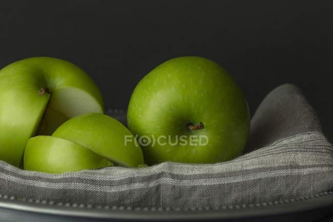Green Smith Apples — Stock Photo