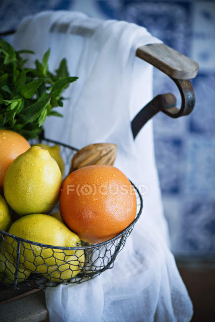 Fresh ripe Citrus fruits — Stock Photo