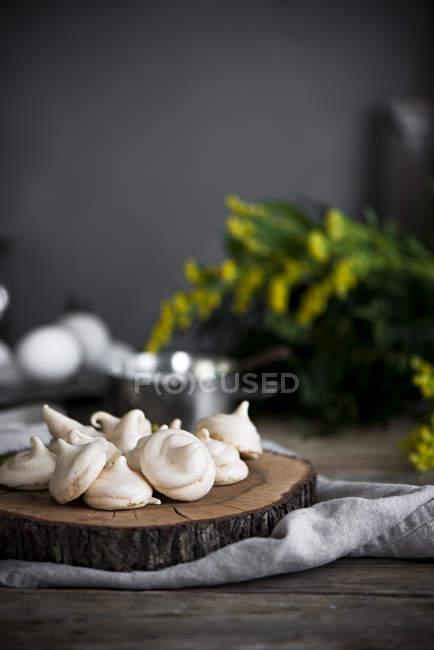 Horno Mini merengues - foto de stock