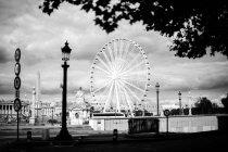 Vue de la grande roue d'observation — Photo de stock