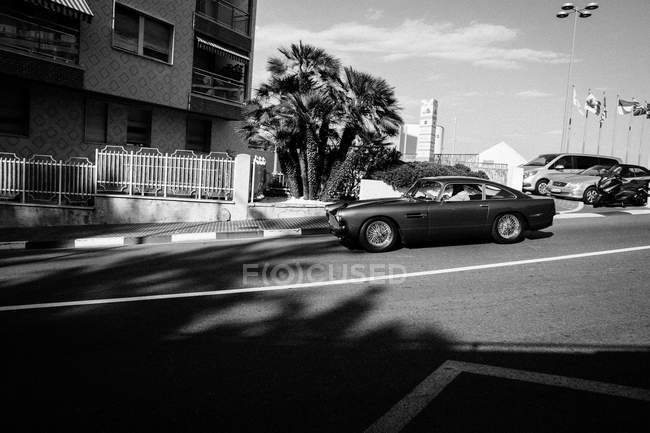 Coupon vintage sulla strada — Foto stock