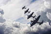 Formazione di volo di Battle of Britain — Foto stock
