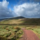 Landschaft des Brecon Beacons National Park — Stockfoto