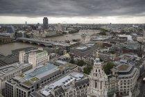 Skyline von London — Stockfoto