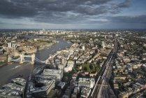 London city skyline view — Stock Photo