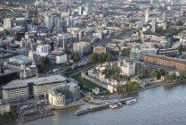 Blick auf die Skyline von London — Stockfoto